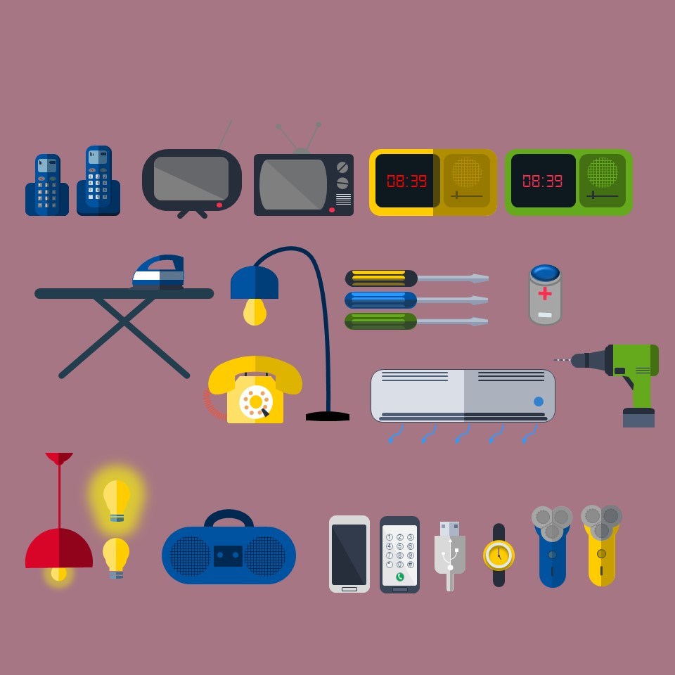 Free PowerPoint Home items