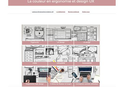 Ergonomie et design UX